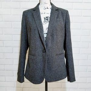 Loft Ann Taylor with Pockets casual career blazer
